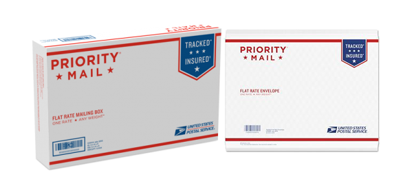 USPS Priority Mail package